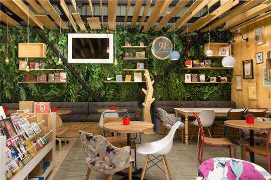 Cách trang trí và thiết kế quán cafe phong cách và tình cảm